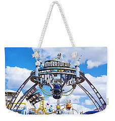 Weekender Tote Bag featuring the photograph Tomorrowland by Greg Fortier