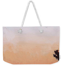 Weekender Tote Bag featuring the painting Tonal Hollywood by Andrew Danielsen
