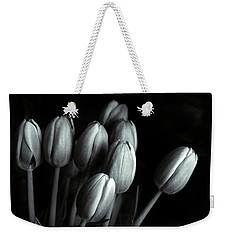 Weekender Tote Bag featuring the photograph Tonal Tulips by Jessica Jenney