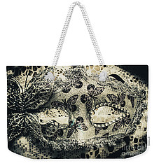 Toned Image Of Beautiful Festive Venetian Mask Weekender Tote Bag
