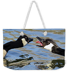 Talking Tongue Weekender Tote Bag