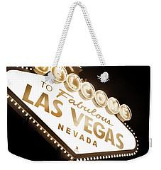 Tonight In Vegas Weekender Tote Bag
