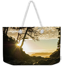 Weekender Tote Bag featuring the photograph Tonquin Beach by Crystal Hoeveler