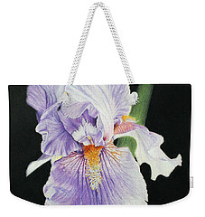 Tonto Basin Iris Weekender Tote Bag by Marna Edwards Flavell