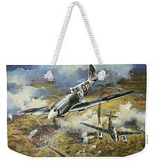 Tony Gaze, Unsung Hero Weekender Tote Bag by Colin Parker