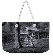 Too Cold For The Ducks Weekender Tote Bag