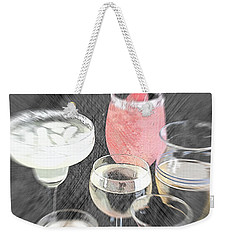 Weekender Tote Bag featuring the photograph Too Many To Drive by Sherry Hallemeier