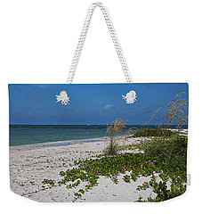 Weekender Tote Bag featuring the photograph Too Much Space Between Us by Michiale Schneider