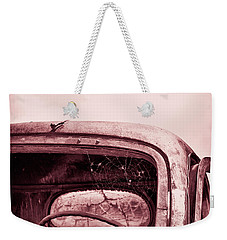 Too Old To Drive Weekender Tote Bag by Mary Hone