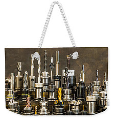 Toolmakers Cutting Tools Weekender Tote Bag
