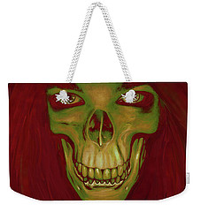 Toothy Grin Weekender Tote Bag by Matt Lindley