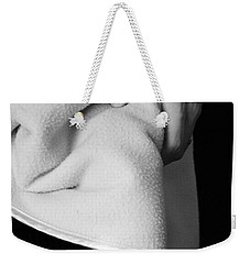Weekender Tote Bag featuring the photograph Tootsies by Angela Rath