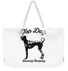 Top Dog Brewing Company Tee Weekender Tote Bag by Edward Fielding