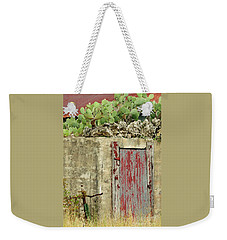 Weekender Tote Bag featuring the photograph Top Heavy by Joe Jake Pratt