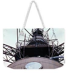 Top Of The Eiffel Tower 1955 Weekender Tote Bag by Wernher Krutein