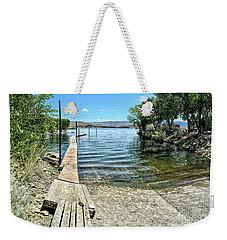 Topaz Landing Boat Launch Weekender Tote Bag