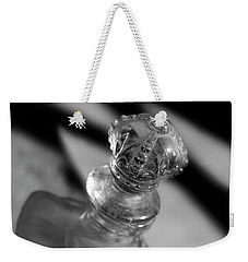 Weekender Tote Bag featuring the photograph Topper by Mike Eingle
