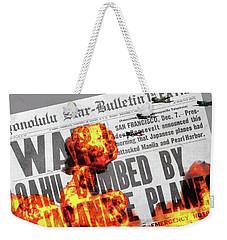 Tora Tora Tora Weekender Tote Bag