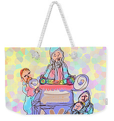 Torah Reading Weekender Tote Bag