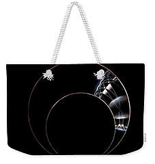 Weekender Tote Bag featuring the digital art Torc by Lea Wiggins