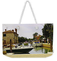 Weekender Tote Bag featuring the photograph Torcello Island by Cendrine Marrouat