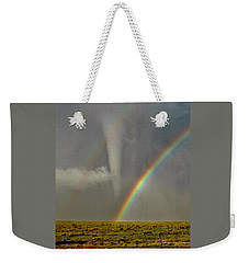Tornado And The Rainbow II  Weekender Tote Bag