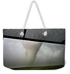 Tornado Near Yorkton Sk. Weekender Tote Bag
