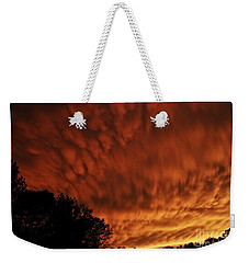 Tornado Warning Weekender Tote Bag