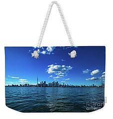 Weekender Tote Bag featuring the photograph Toronto 1 by Mariusz Czajkowski