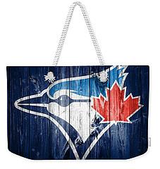 Toronto Blue Jays Barn Door Weekender Tote Bag by Dan Sproul