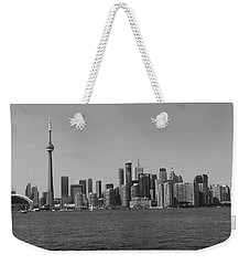Toronto Cistyscape Bw Weekender Tote Bag