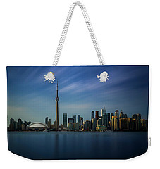 Toronto Cityscape Weekender Tote Bag