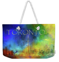 Toronto - Cityscape Weekender Tote Bag