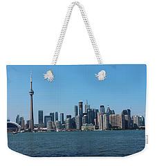 Toronto Cityscape Weekender Tote Bag