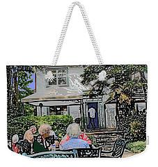Toronto Island Restaurant Weekender Tote Bag by Ian  MacDonald