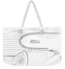 Torpedo Ford Weekender Tote Bag