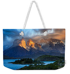Torres Del Paine National Park, Chile Weekender Tote Bag
