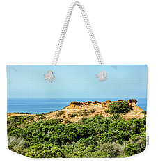 Torrey Pines California - Chaparral On The Coastal Cliffs Weekender Tote Bag