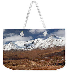 Weekender Tote Bag featuring the photograph Torridon Panorama by Grant Glendinning