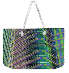 Abstract Angles Weekender Tote Bag