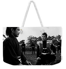 Toshiro Mifune Band Of Assassins Weekender Tote Bag