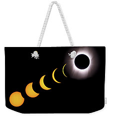 Total Eclipse Sequence, Aruba, 2/28/1998 Weekender Tote Bag