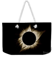 Total Solar Eclipse Corona Weekender Tote Bag