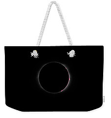 Total Solar Eclipse Prominences Weekender Tote Bag