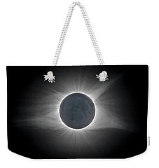 Total Solar Eclipse With Corona Weekender Tote Bag