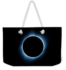Weekender Tote Bag featuring the photograph Totality by Rikk Flohr