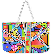Totem Tree Weekender Tote Bag