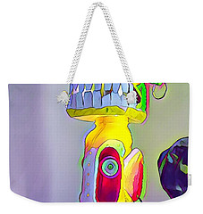 Totemic Mask Weekender Tote Bag