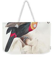 Toucan Weekender Tote Bag by Edward Lear