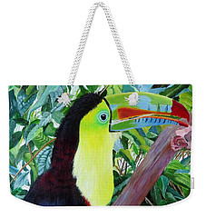 Toucan Portrait 2 Weekender Tote Bag